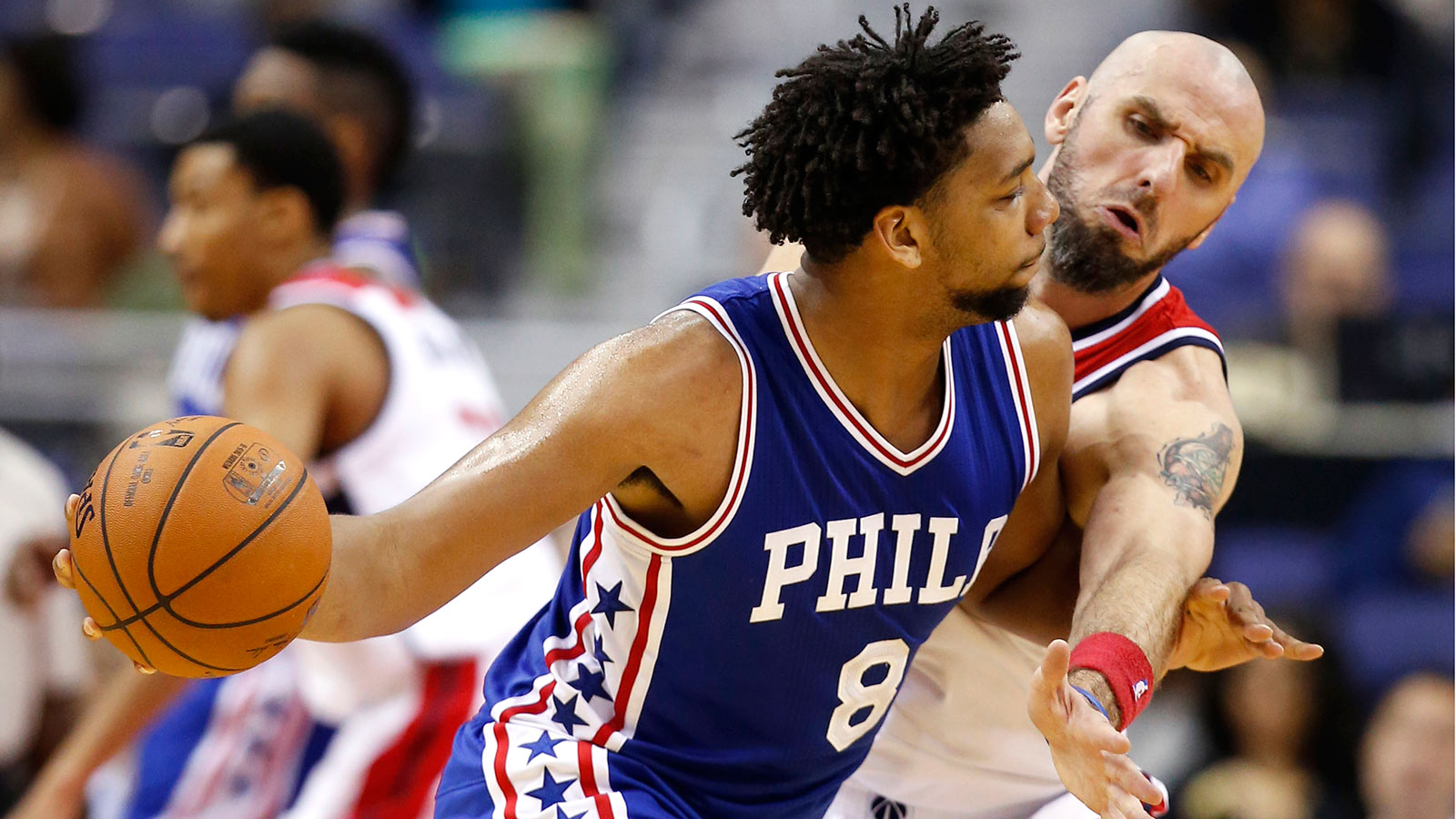 No. 3 pick Okafor impressive in NBA debut as 76ers fall to Wizards