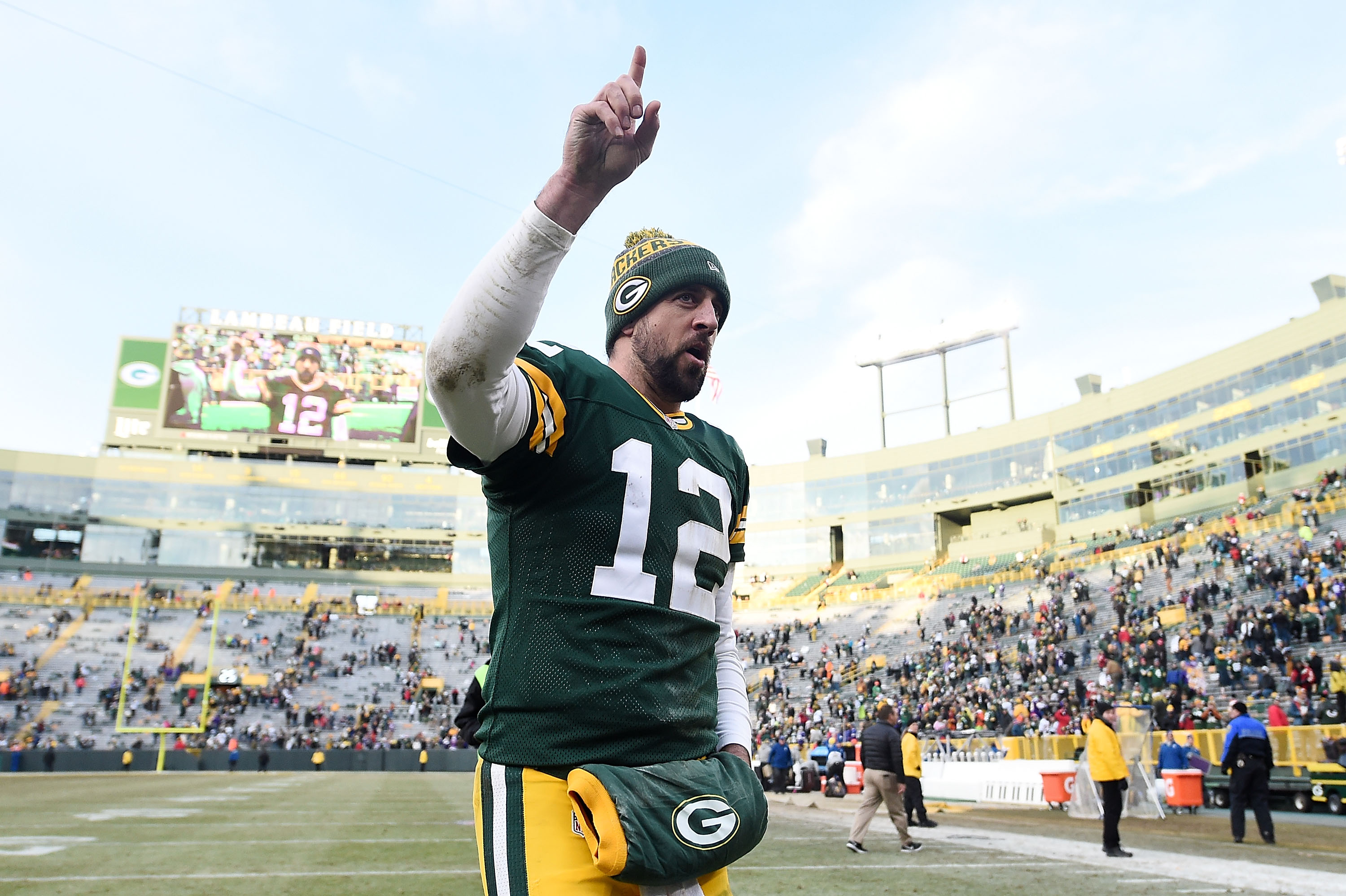 Aaron Rodgers, Green Bay Packers still 'running the table'