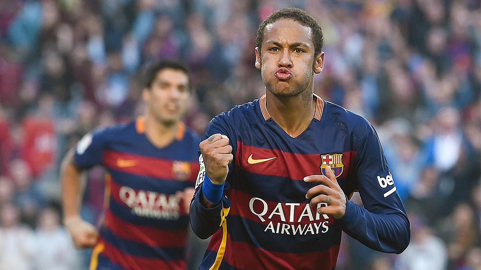 Neymar powers Barca to fourth straight win, down Villarreal