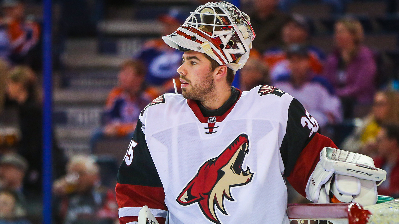 Coyotes' Domingue accuses officials of preferential treatment