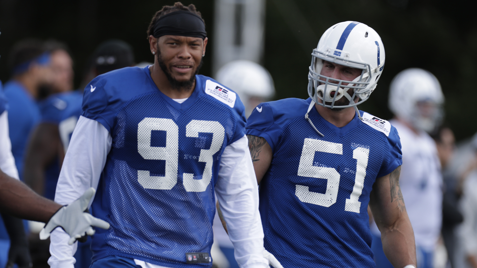 Colts' Sheard remains sidelined with knee injury