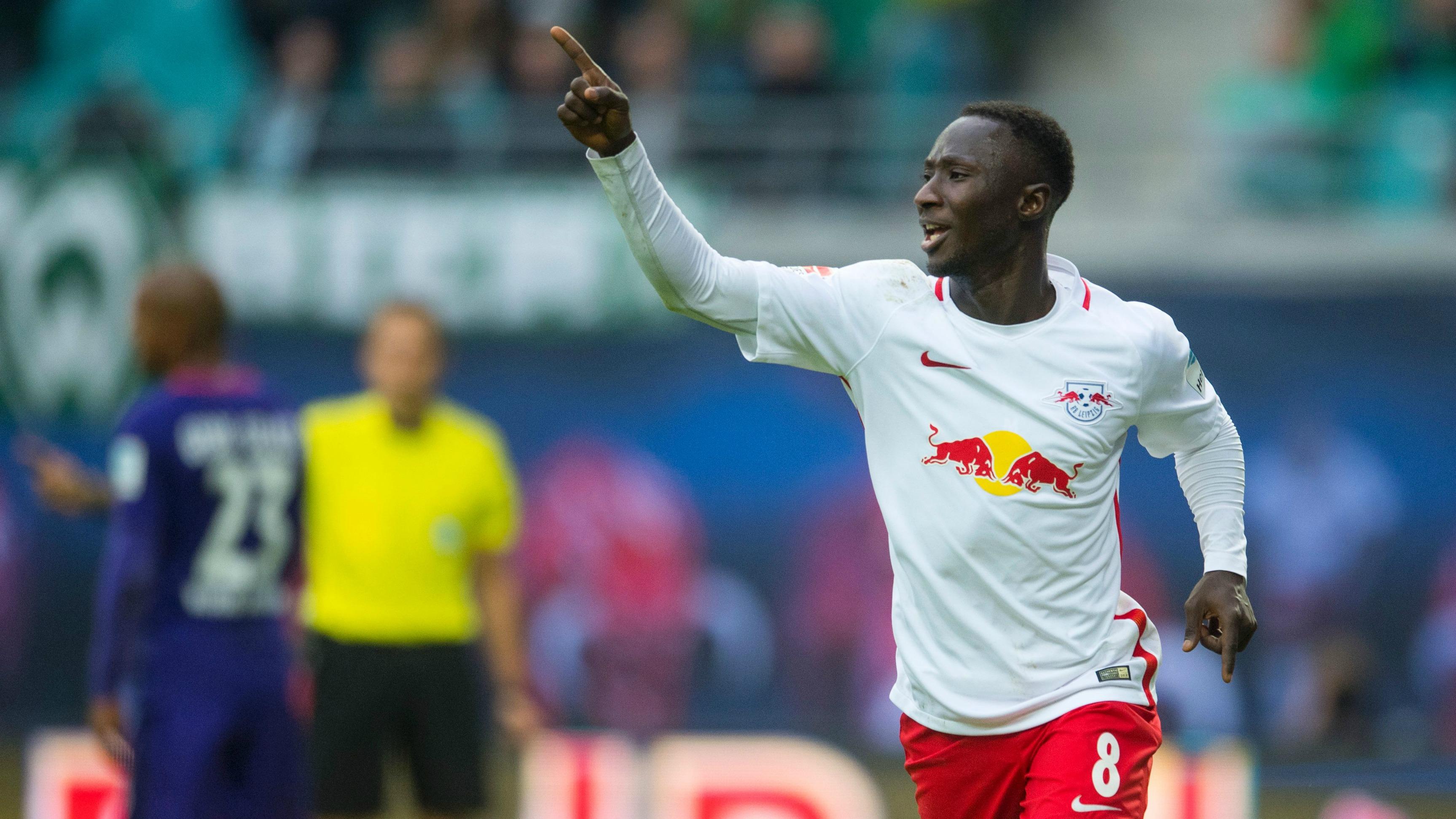 Watch Naby Keita beat the entire Bremen defense as RB Leipzig win again