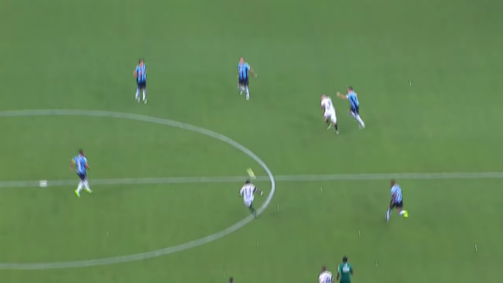 Watch Juan Cazares stripe a beautiful goal from inside his own half