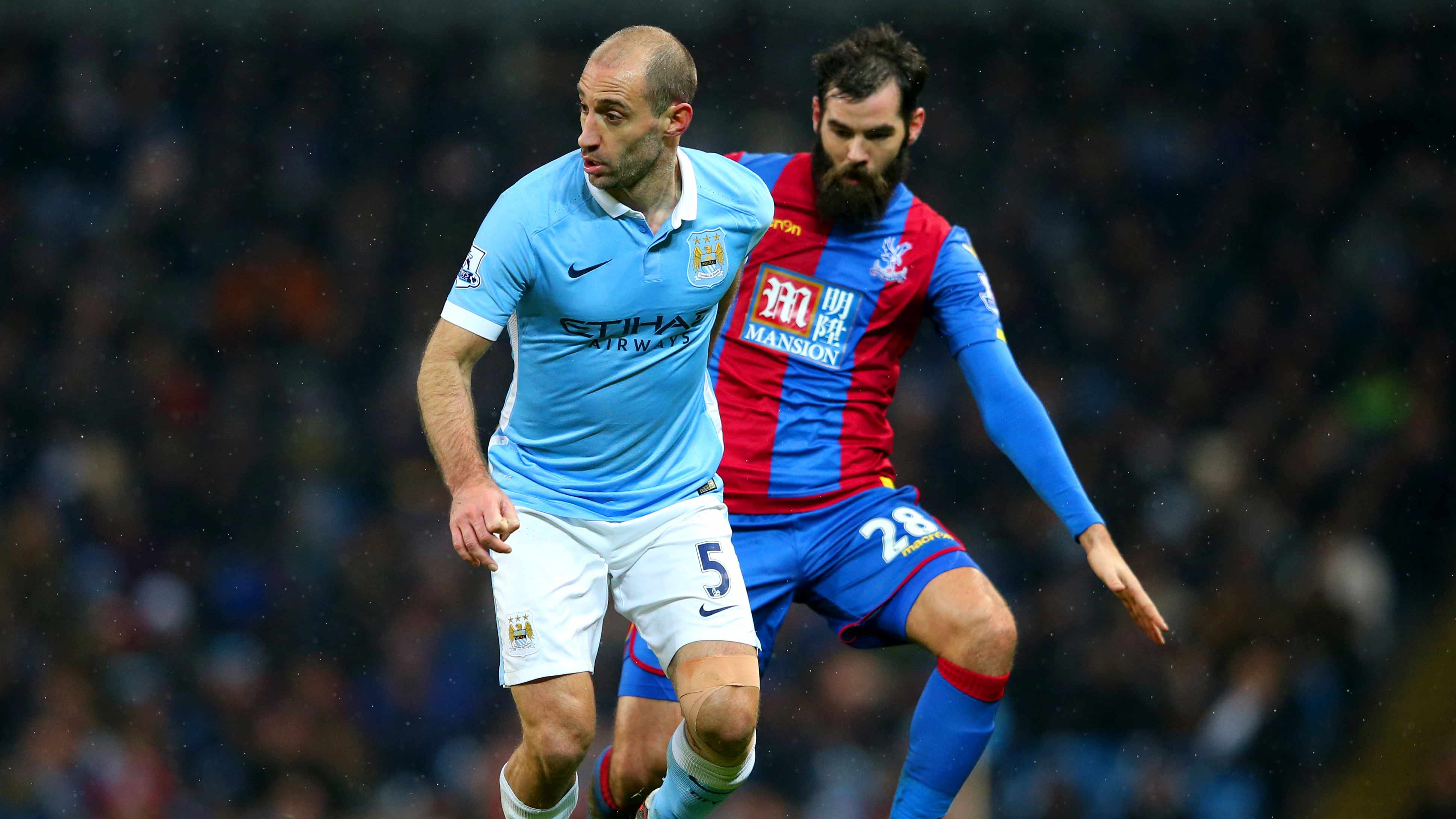 Manchester City defender Zabaleta hints at summer transfer