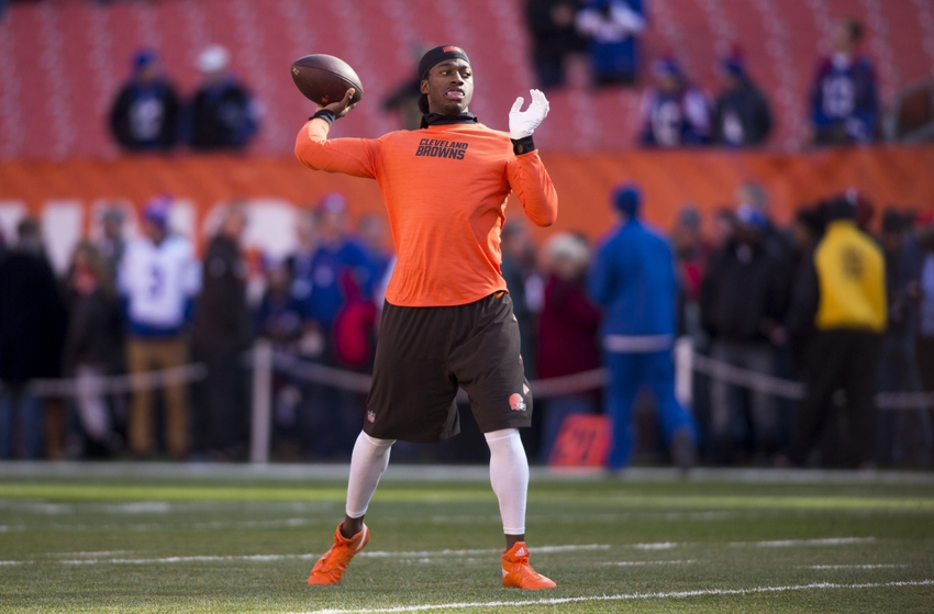 Will Robert Griffin III start for the Browns in Week 14?