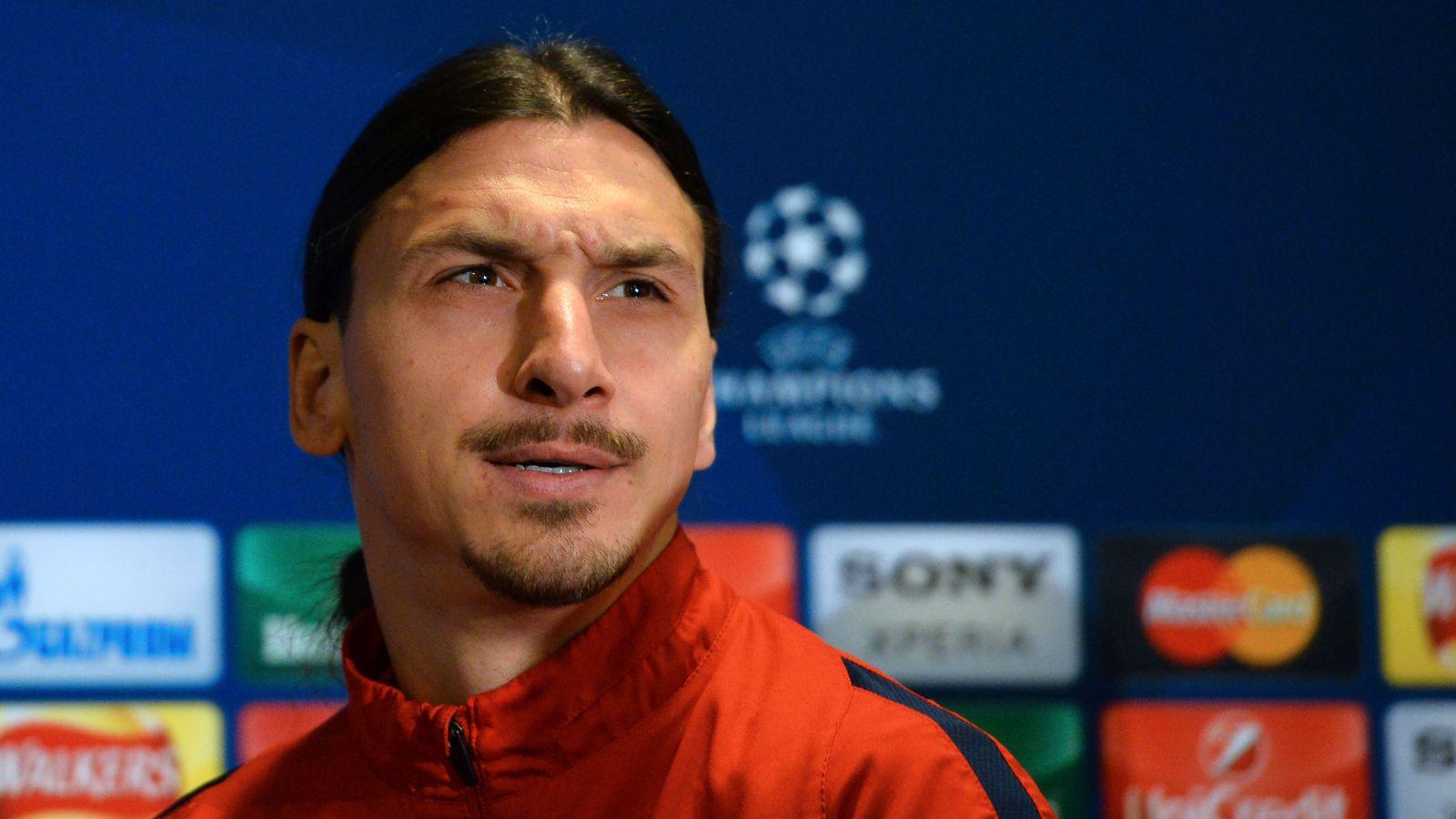 PSG striker Ibrahimovic preparing for United move
