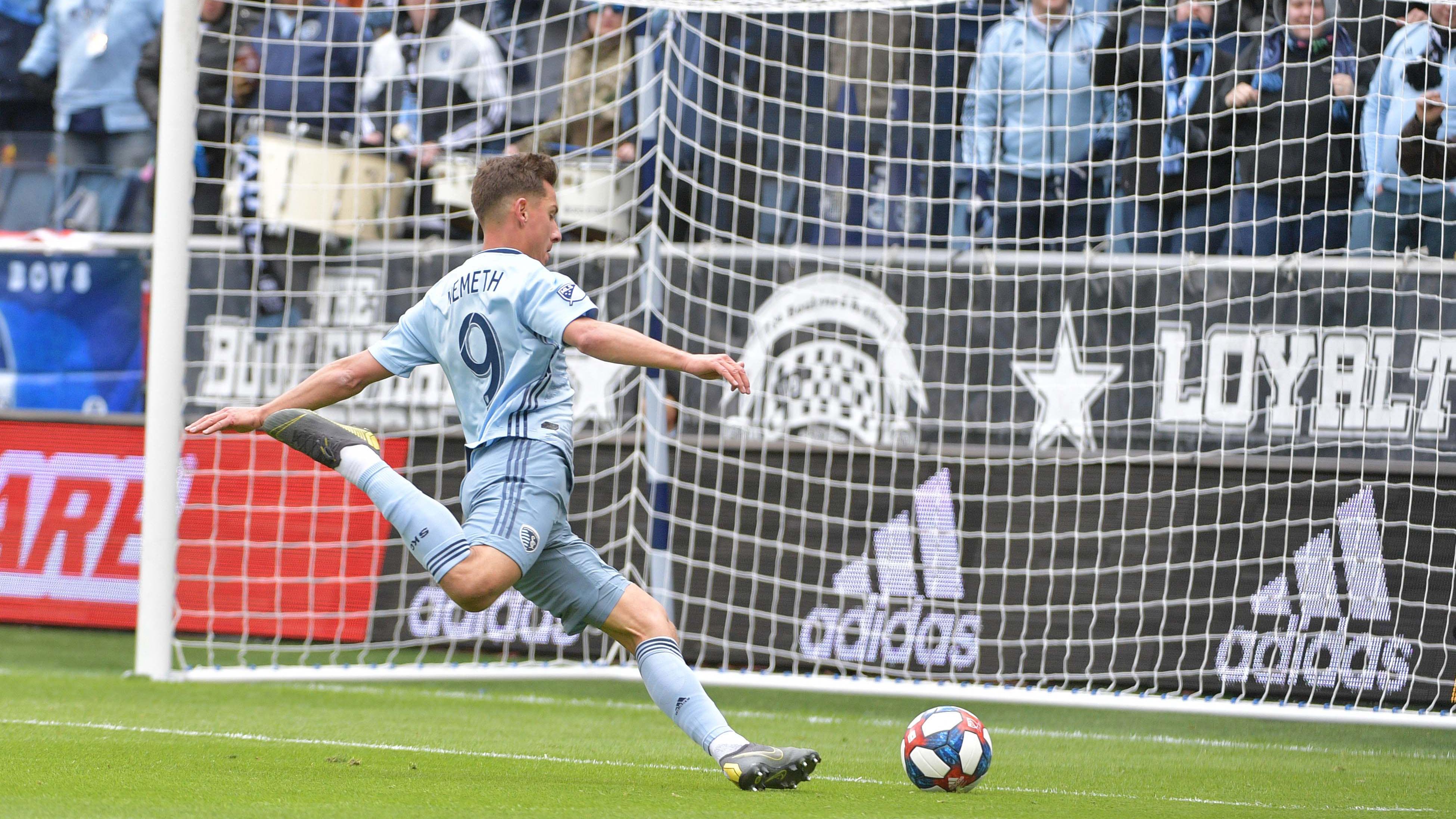 Nemeth's scoring surge powers Sporting KC to early success