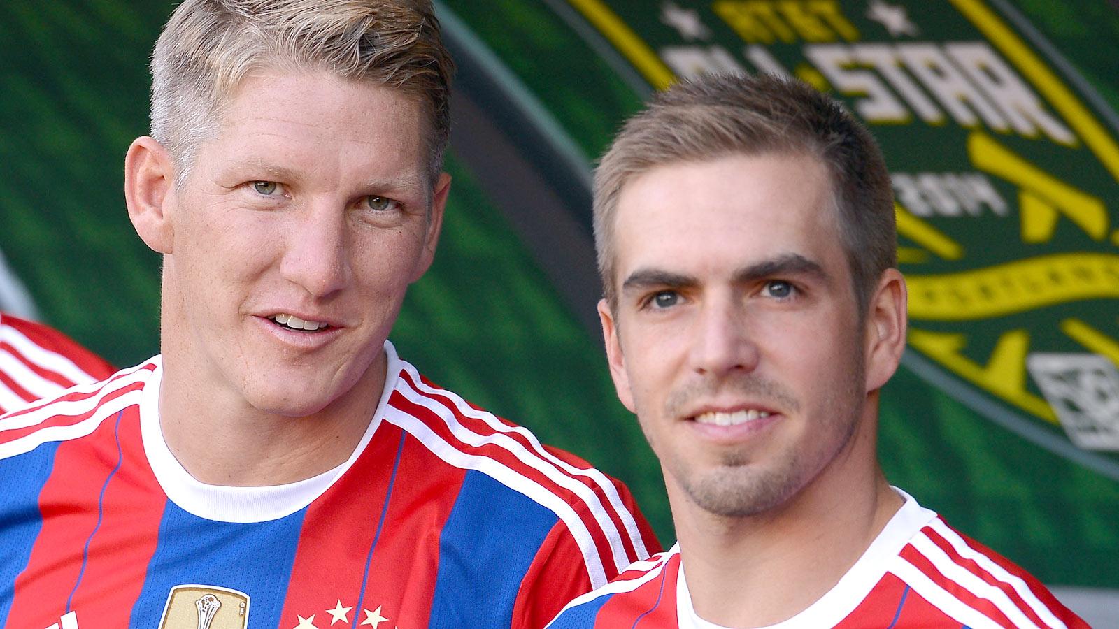 Bayern captain Lahm upset at prospect of losing Schweinsteiger