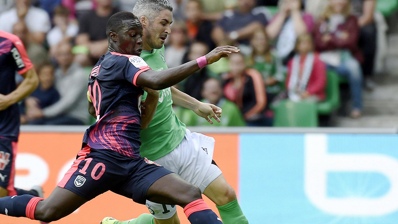Lyon collect first Ligue 1 win at Guingamp; Bordeaux draw Saint-Etienne