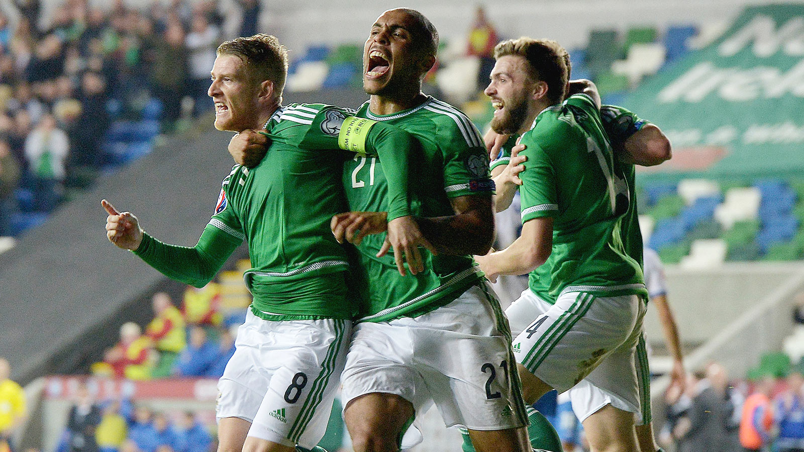 Northern Ireland seal Euro qualification with win over Greece