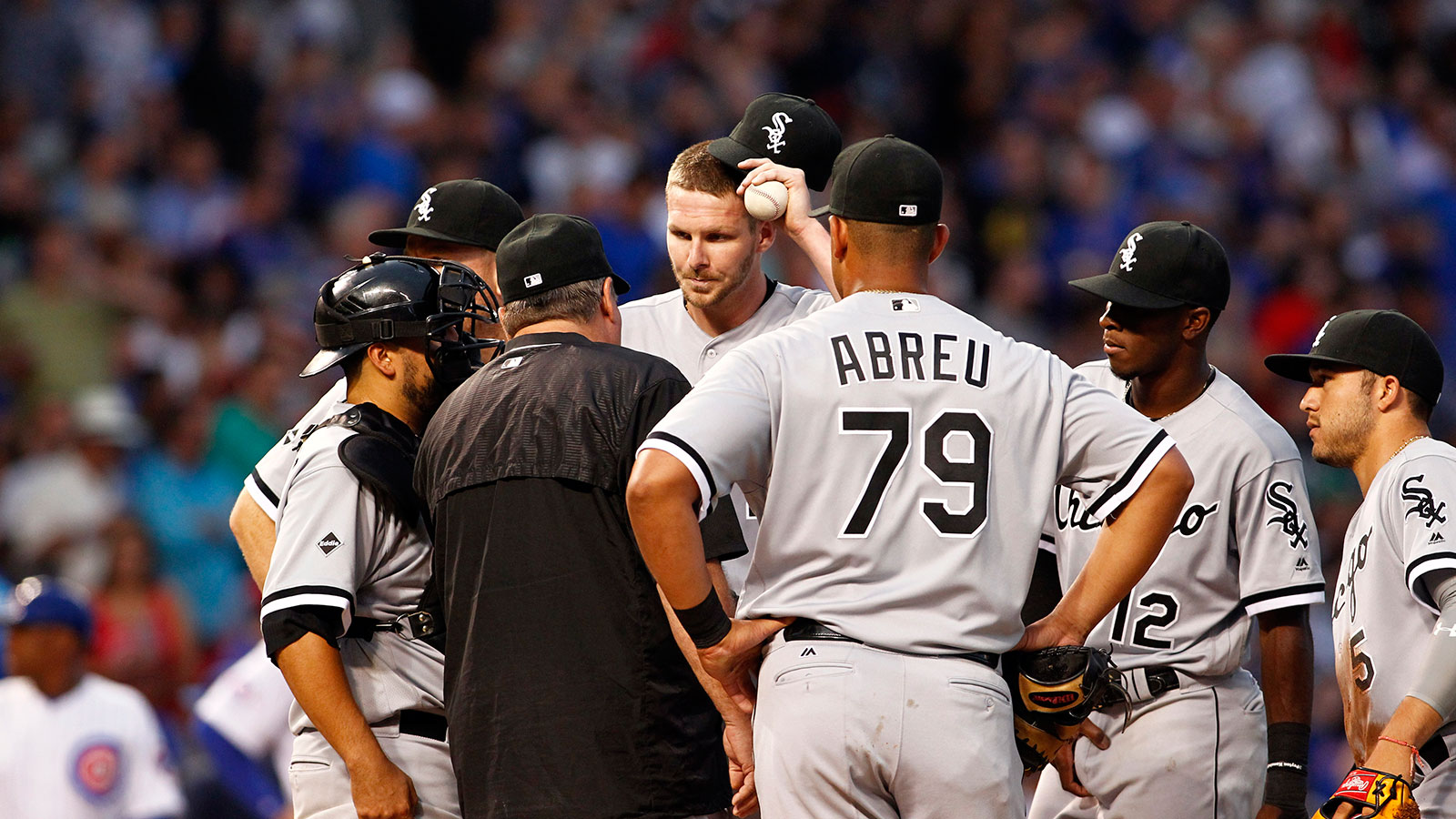 Chris Sale's return spoiled by Cubs, who get first save from Aroldis Chapman