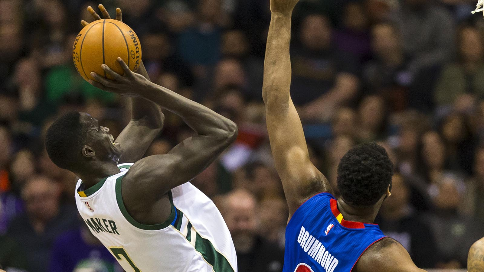 Maker sets career high, leads Bucks to overtime victory