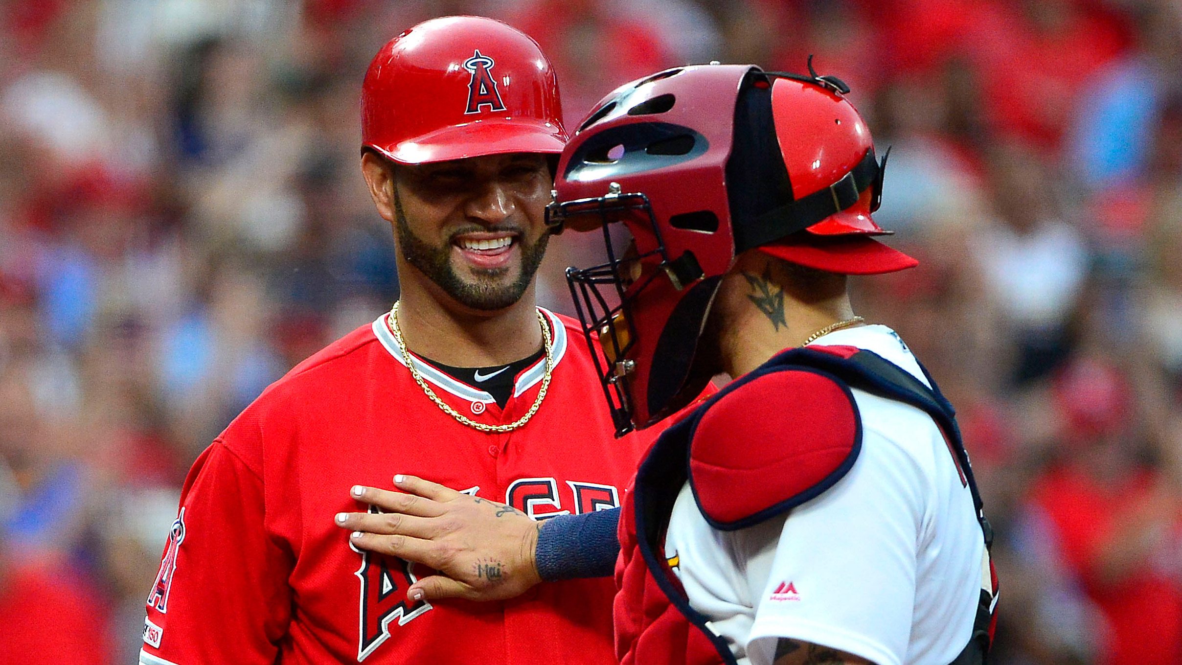Cards rally falls short in the ninth, but fans give Pujols a perfect sendoff