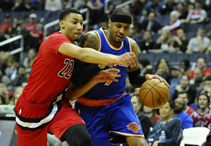 Washington Wizards' Otto Porter Shut Down Carmelo Anthony