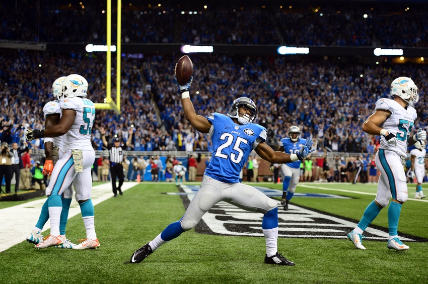 Lions take care of their own, extend Theo Riddick and Sam Martin