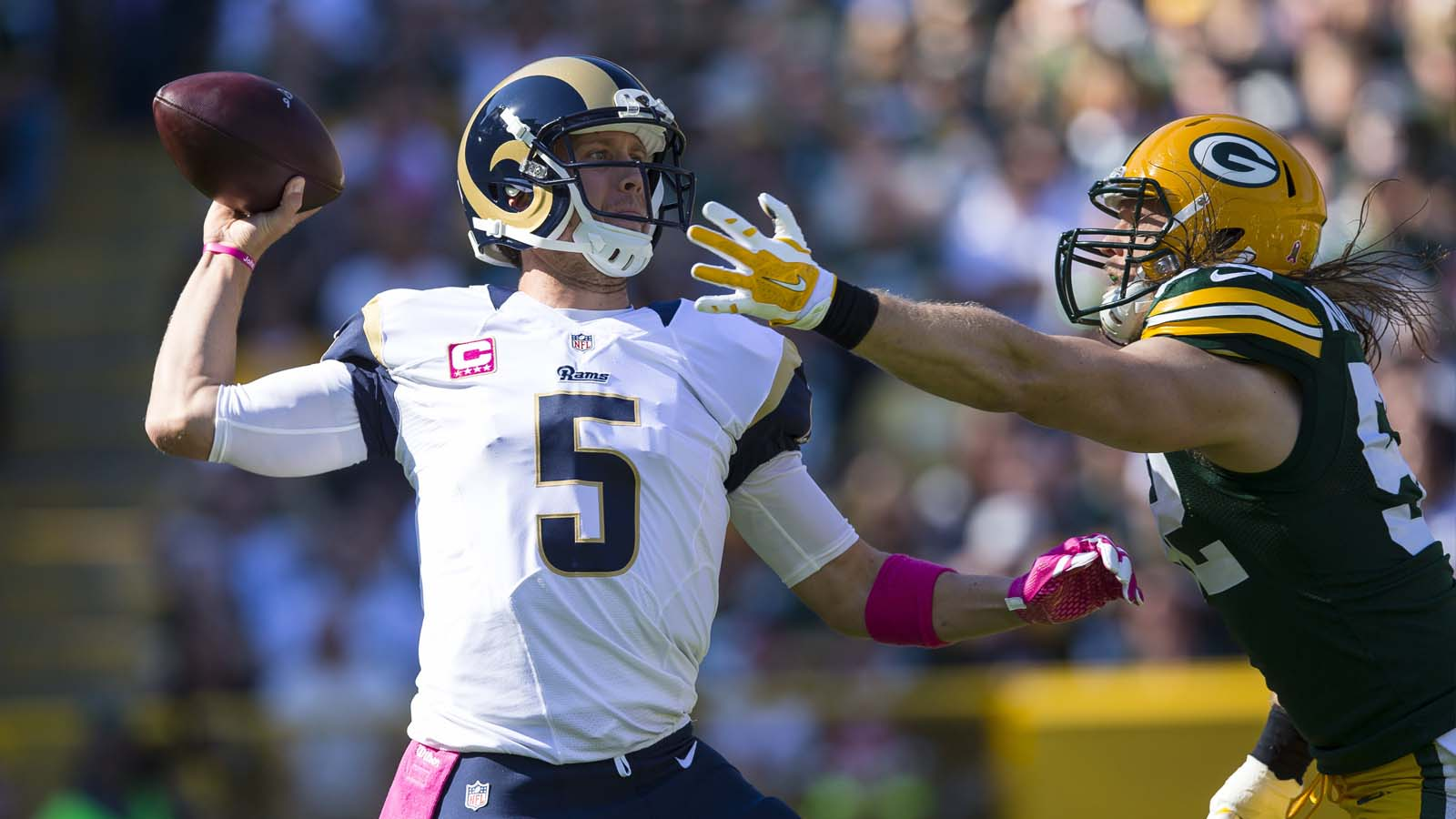 Rams made plenty of mistakes against Packers -- not just Foles