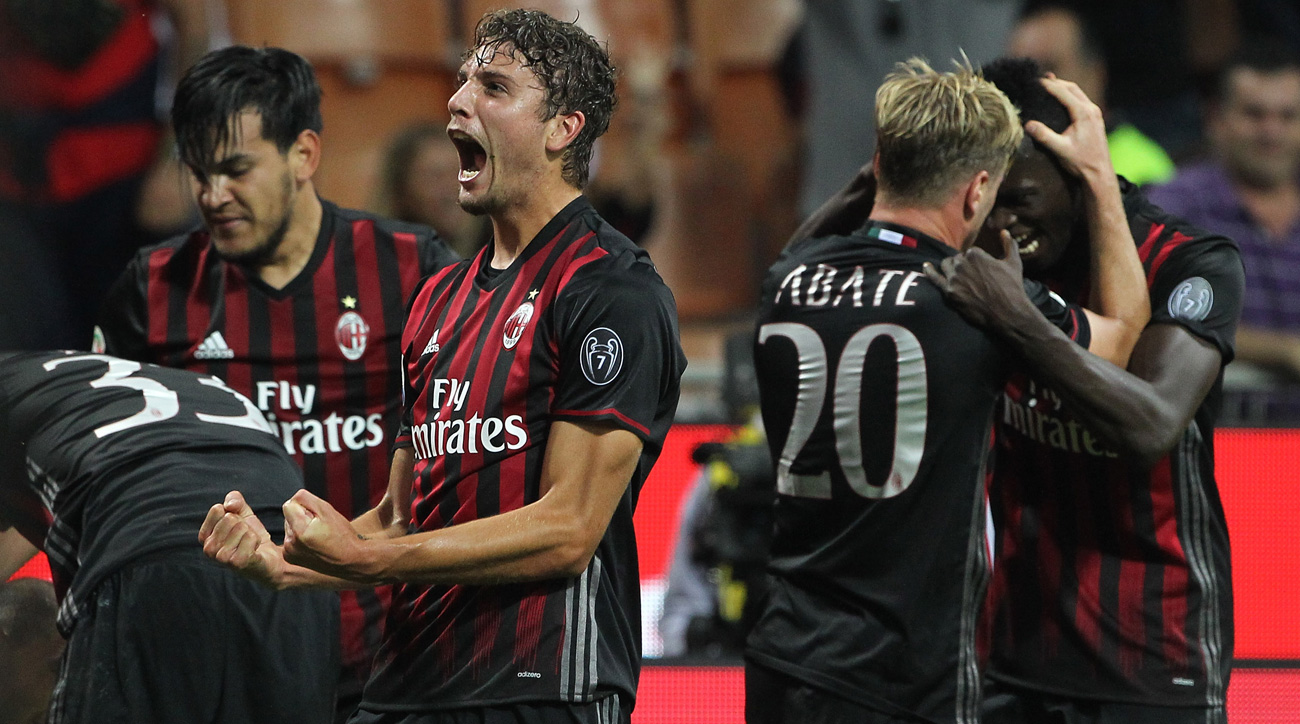 Manuel Locatelli emerges as another bright, young player for AC Milan
