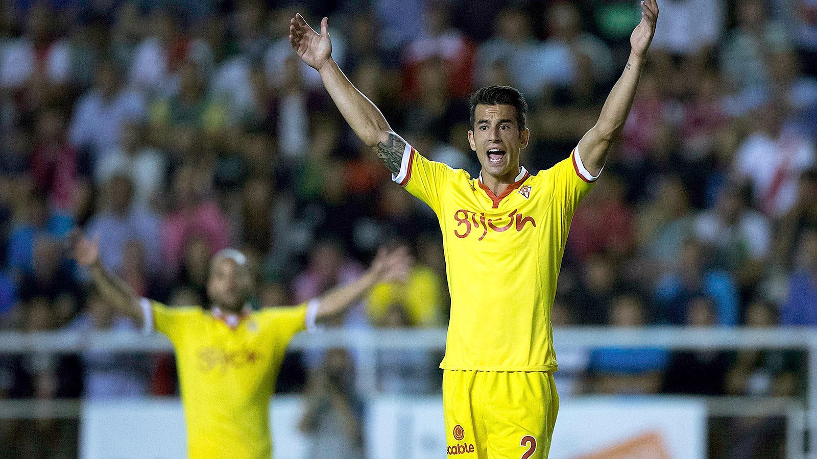 Sporting edge past Espanyol with late winner; Malaga outlast Real Sociedad