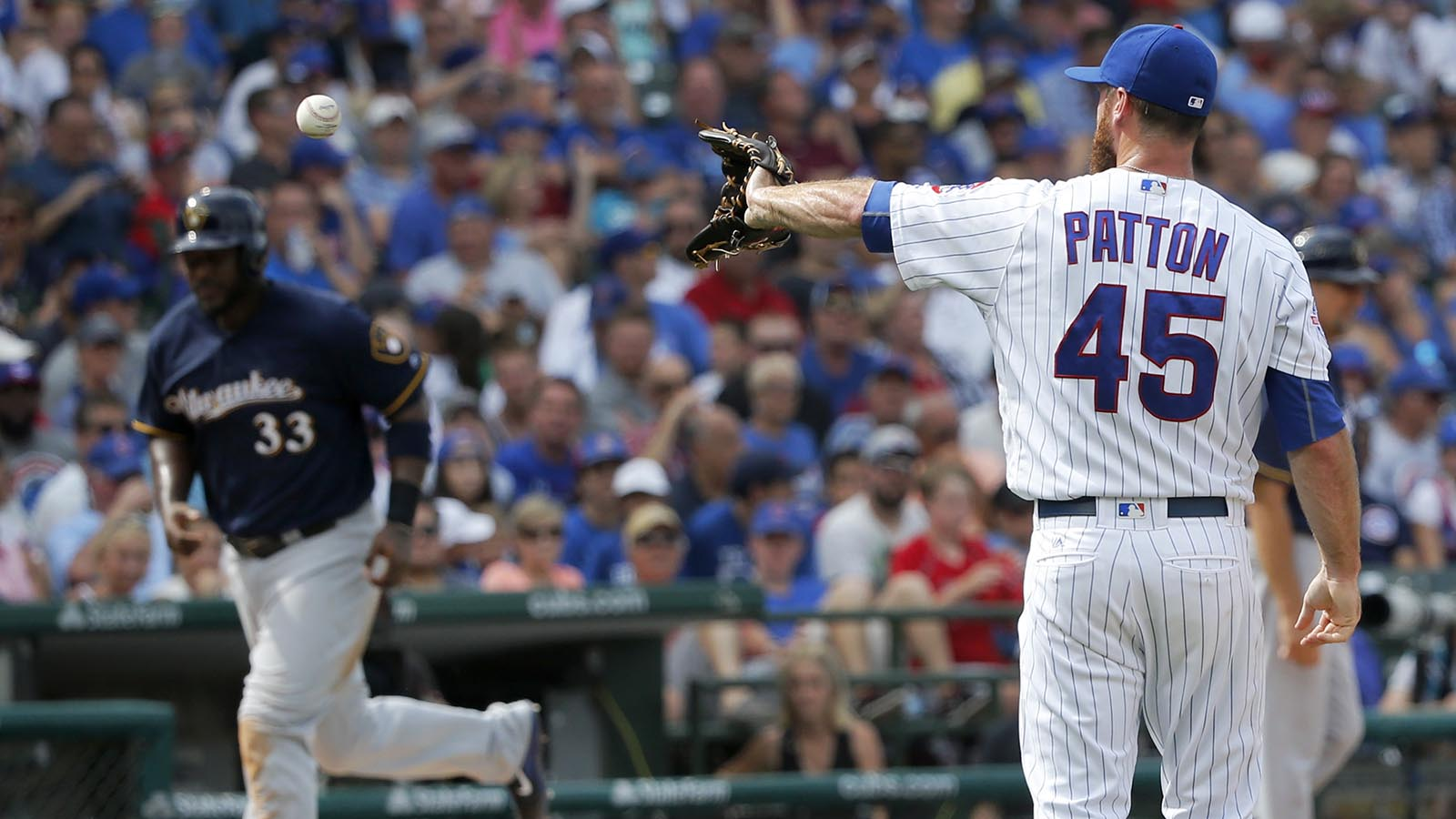 Brewers fall 9-6 to surging Cubs in series finale