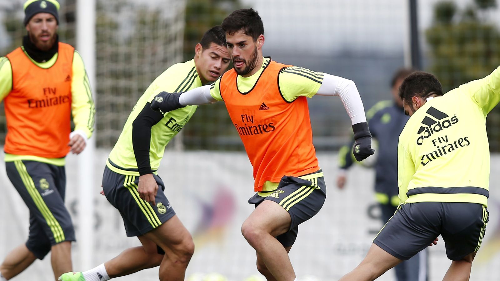 Real midfielder Isco says he is 'very happy' at the Bernabeu