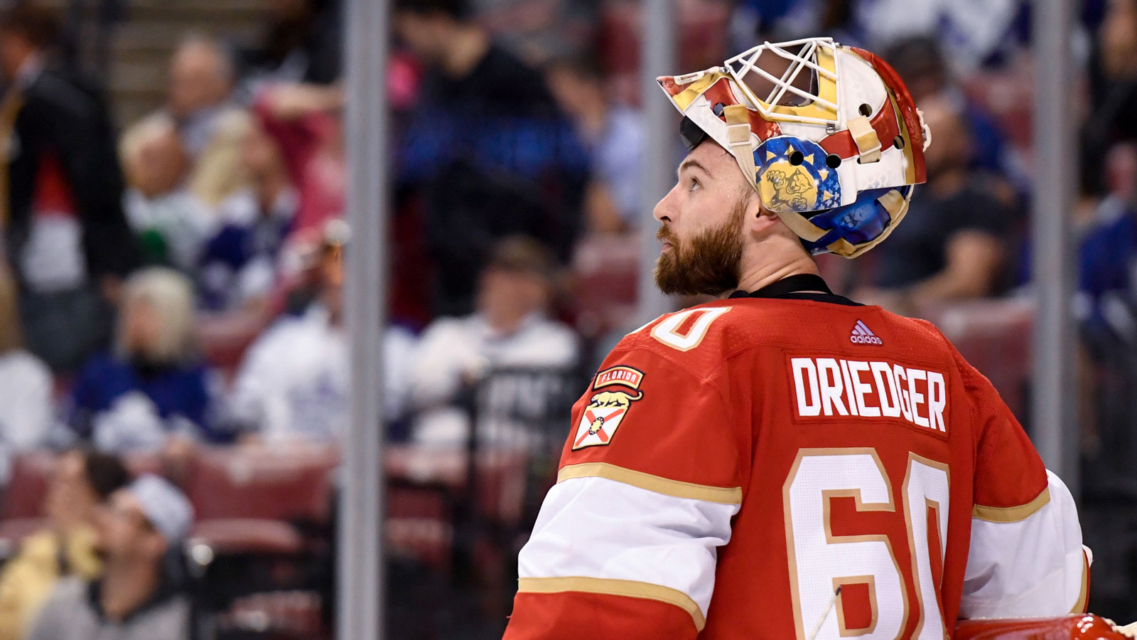 Panthers expect goaltender Chris Driedger to miss several weeks with lower-body injury