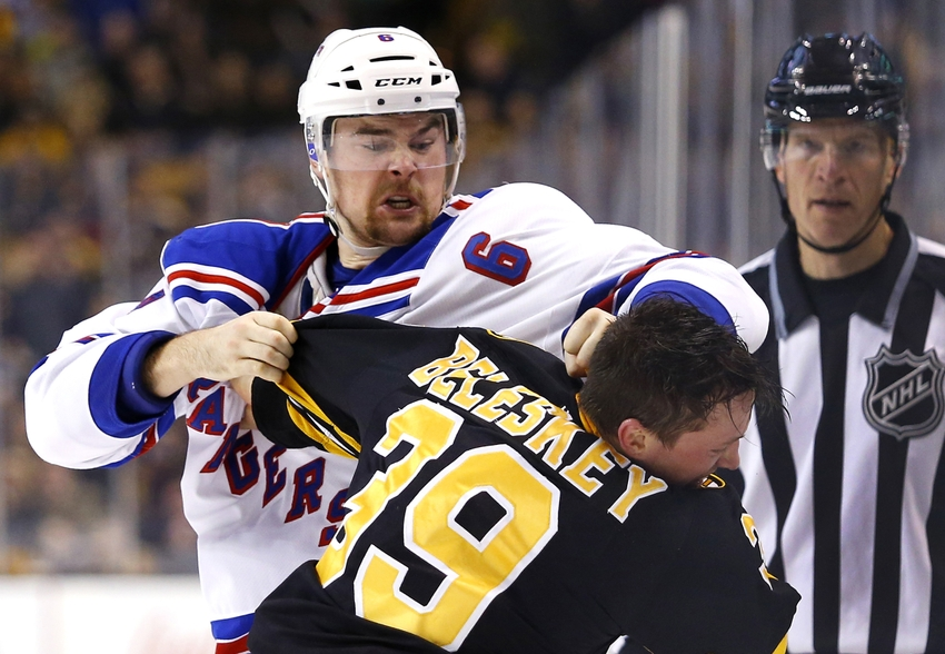 Panthers acquire defenseman Dylan McIlrath from Rangers