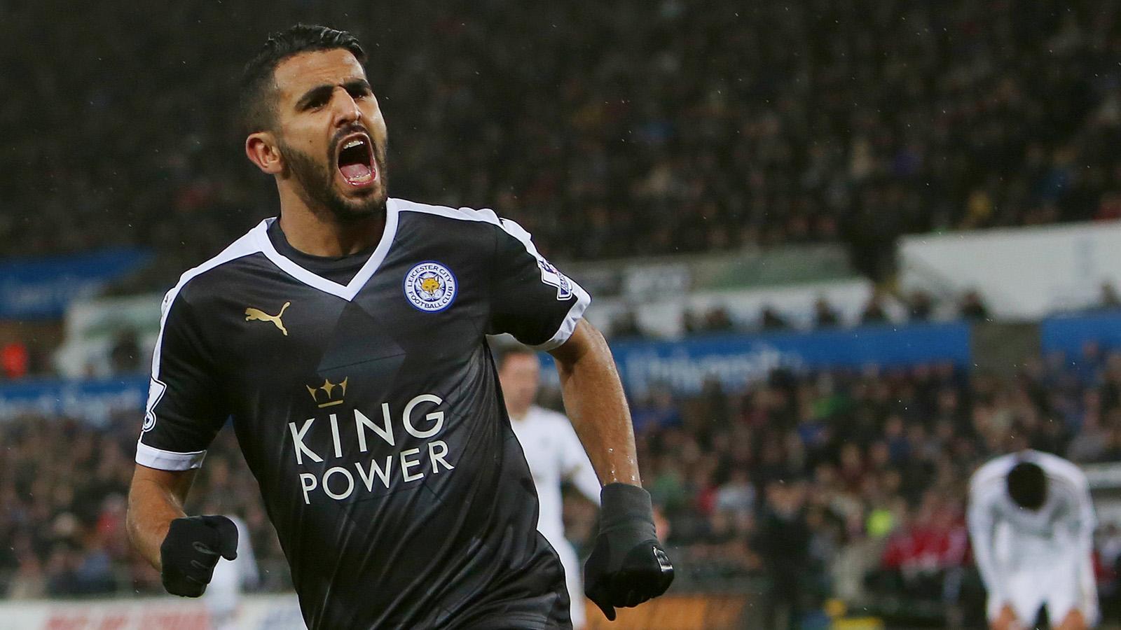 Leicester star Riyad Mahrez next on Arsenal agenda