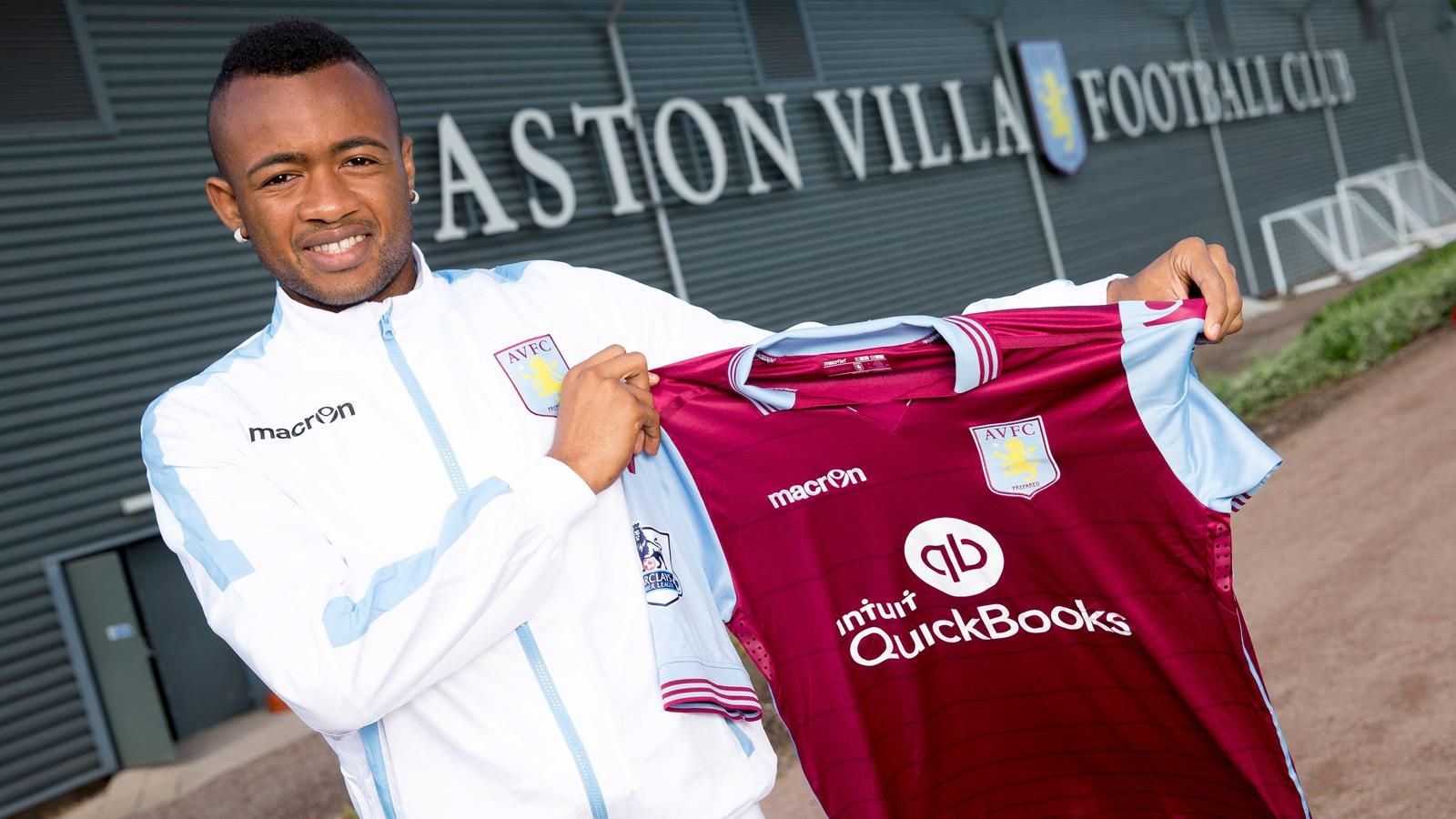 Aston Villa sign forward Jordan Ayew from Lorient on 5-year deal