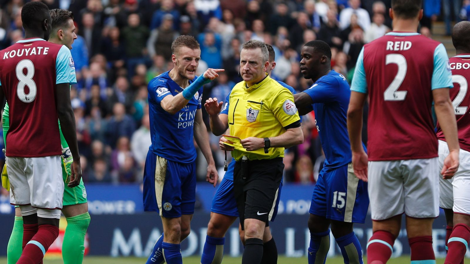 Pochettino says Vardy ban to have 'big impact' on Foxes' title tilt