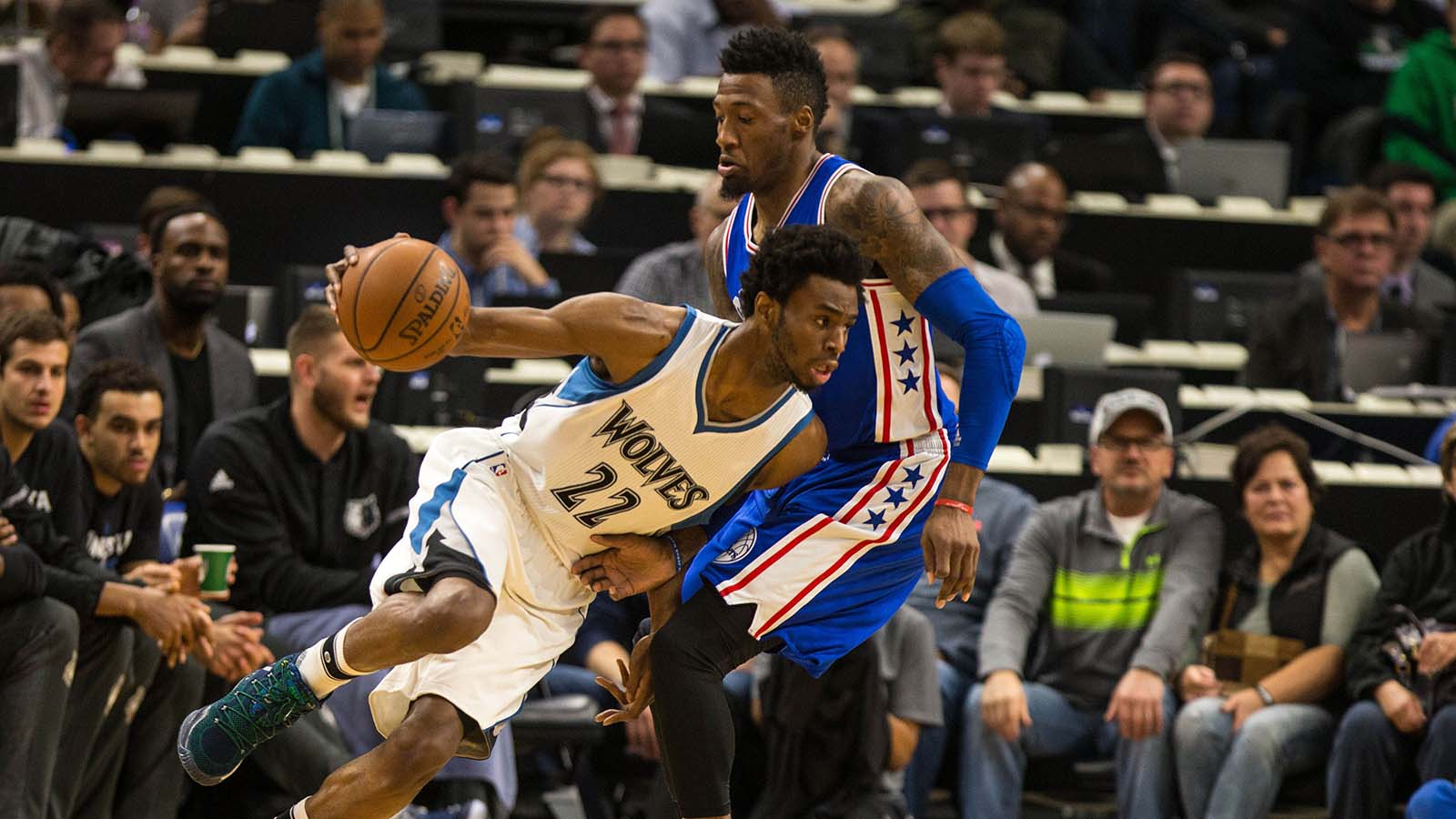 Wolves' Wiggins does it again in 110-86 win over 76ers