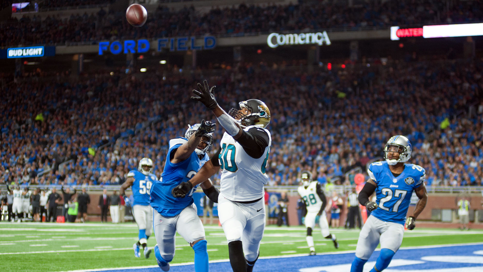 Jaguars' woes continue, slump hits 5 straight with loss to Lions