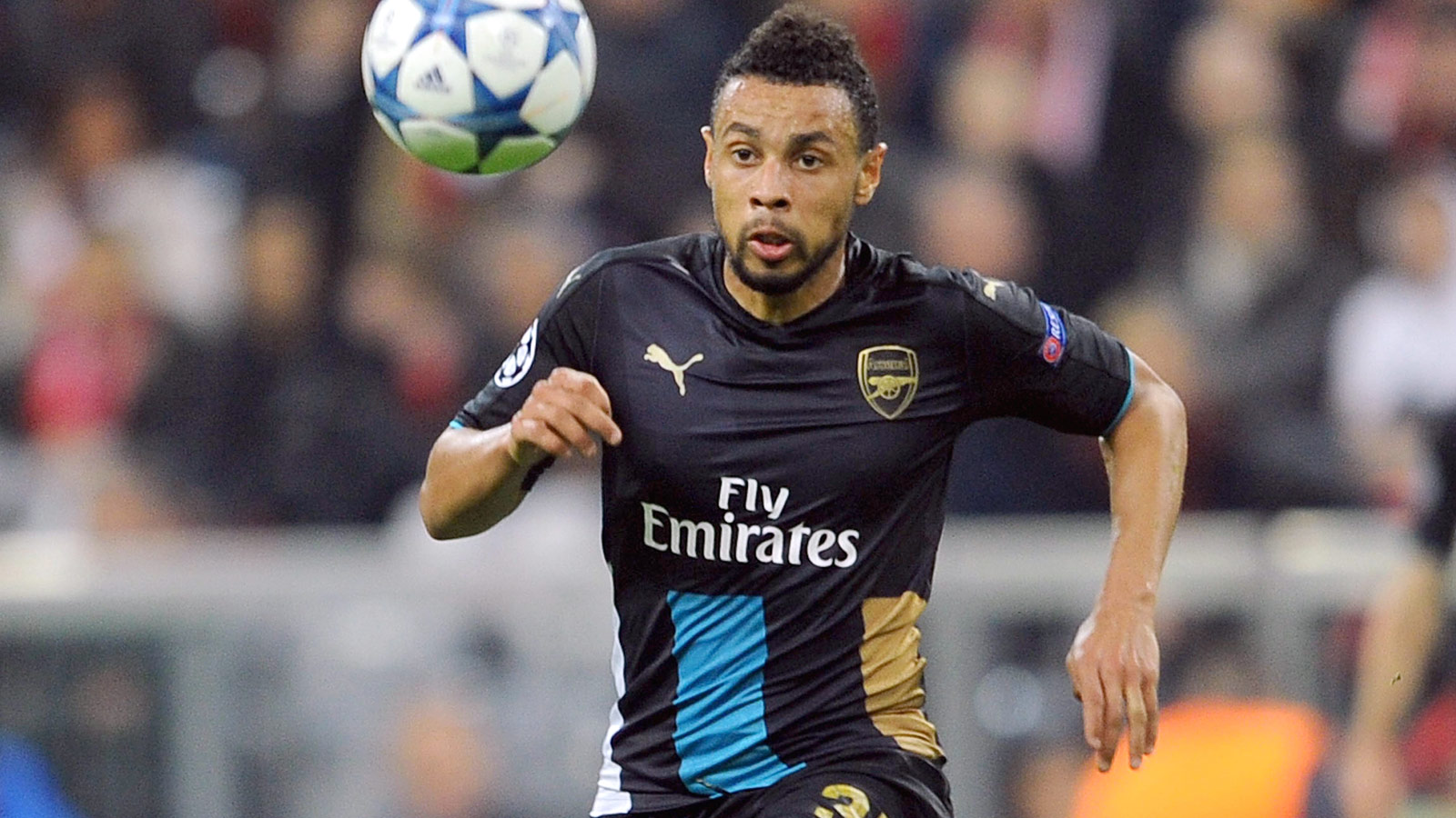 Arsenal's center back situation is so bad that Francis Coquelin is playing defense