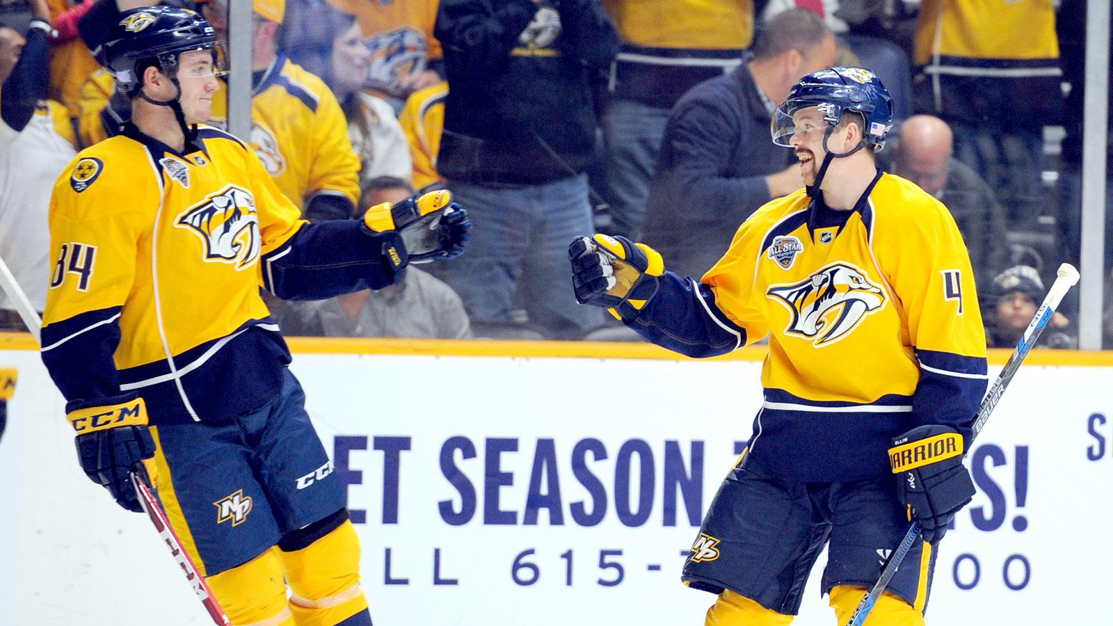 Predators call-up leads win over Senators