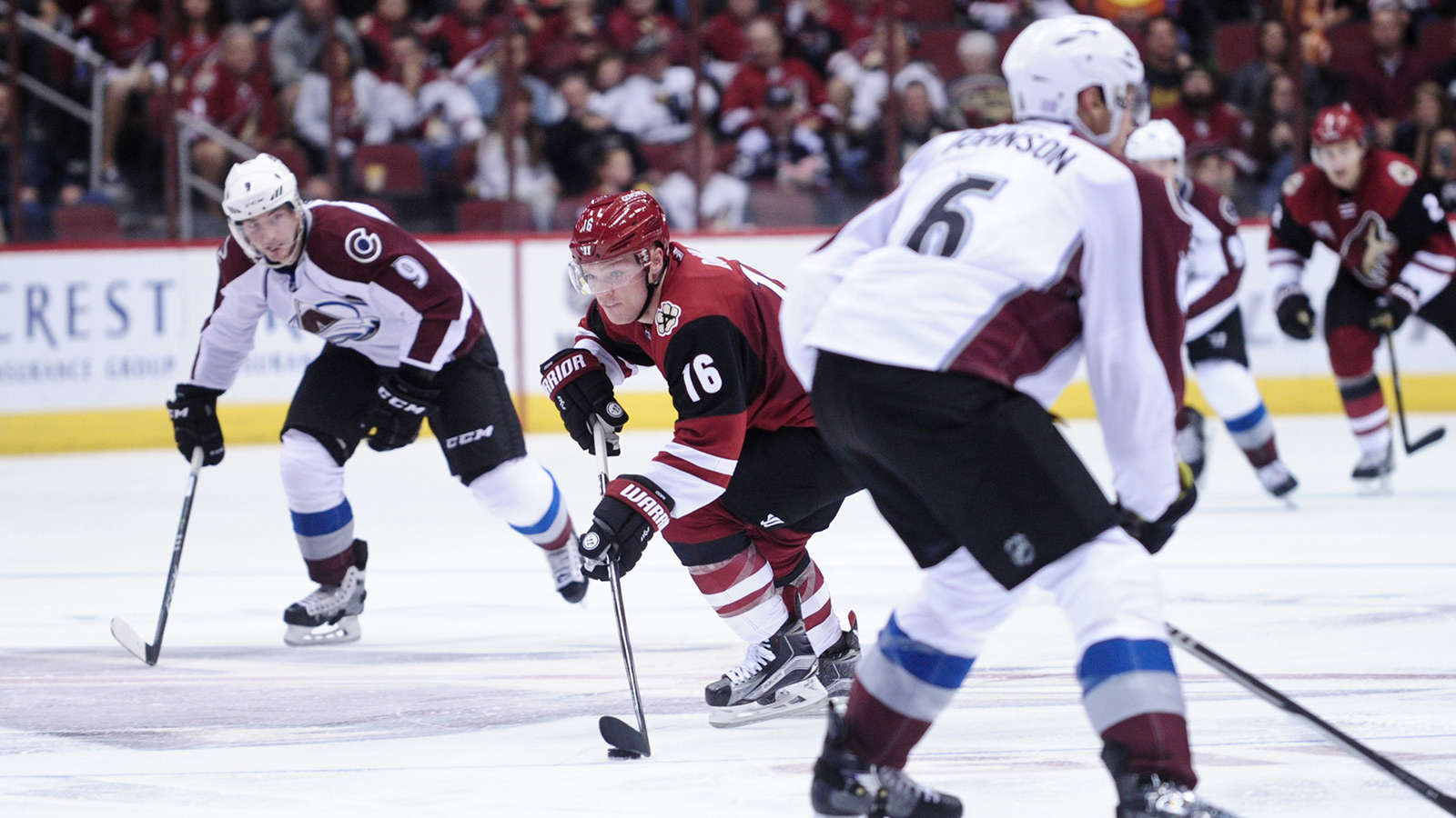 Coyotes expect stronger effort tonight vs. Avalanche