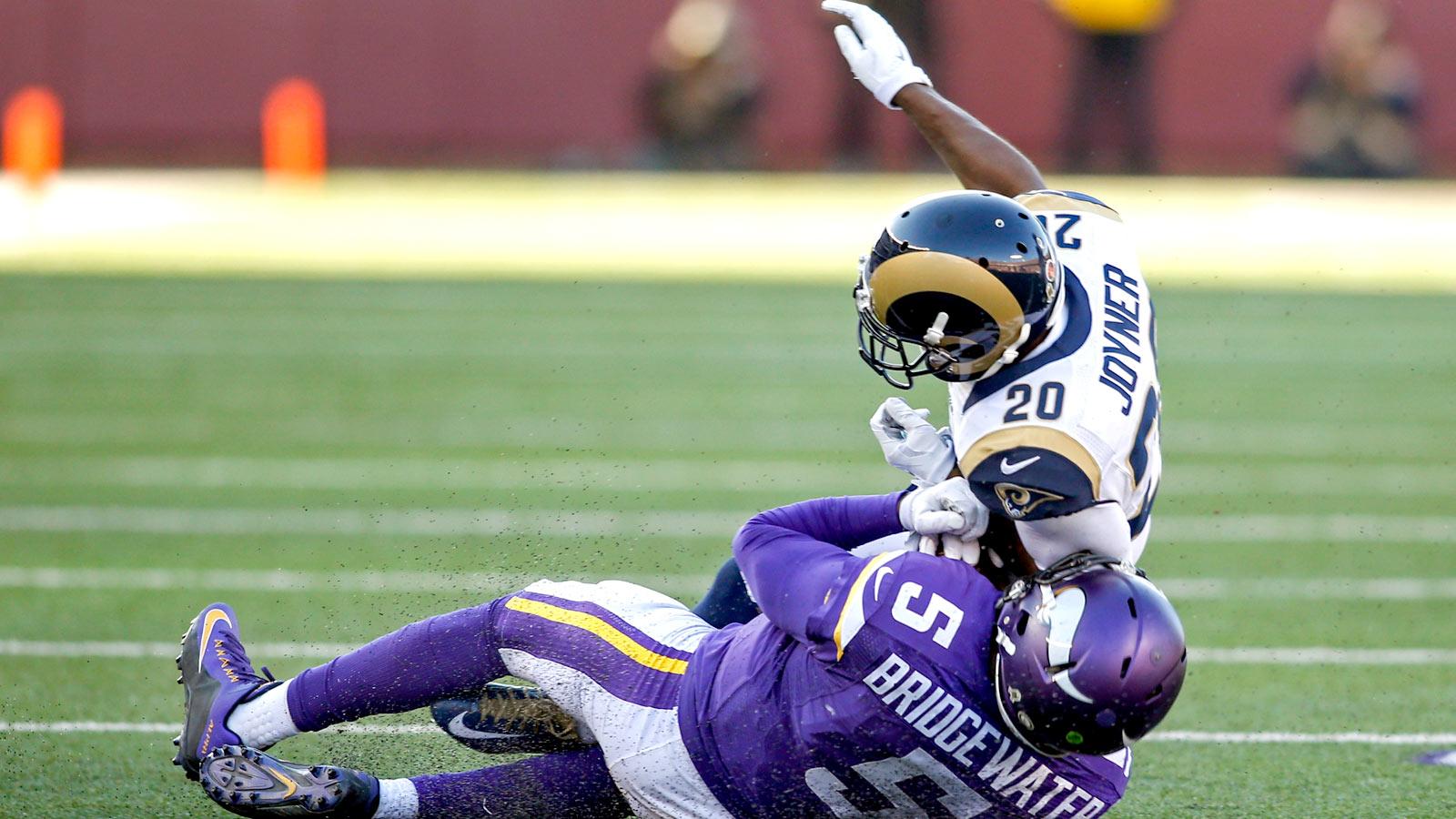 Rams CB Lamarcus Joyner fined $23K for hit on Teddy Bridgewater
