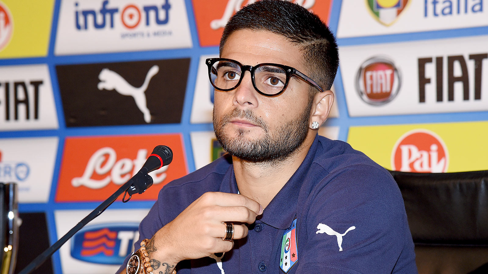 Injured Insigne out of Italy squad, Bonaventura called up