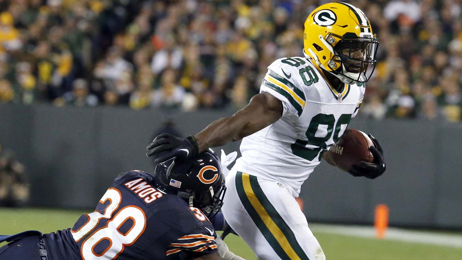 Packers snap counts: Making do without any running backs
