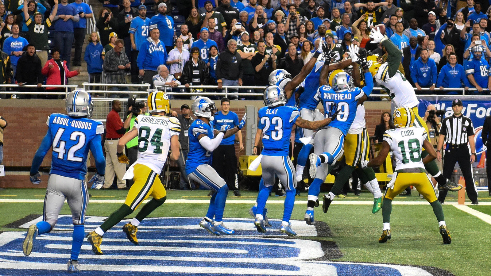 A lot went wrong for Lions on Hail Mary