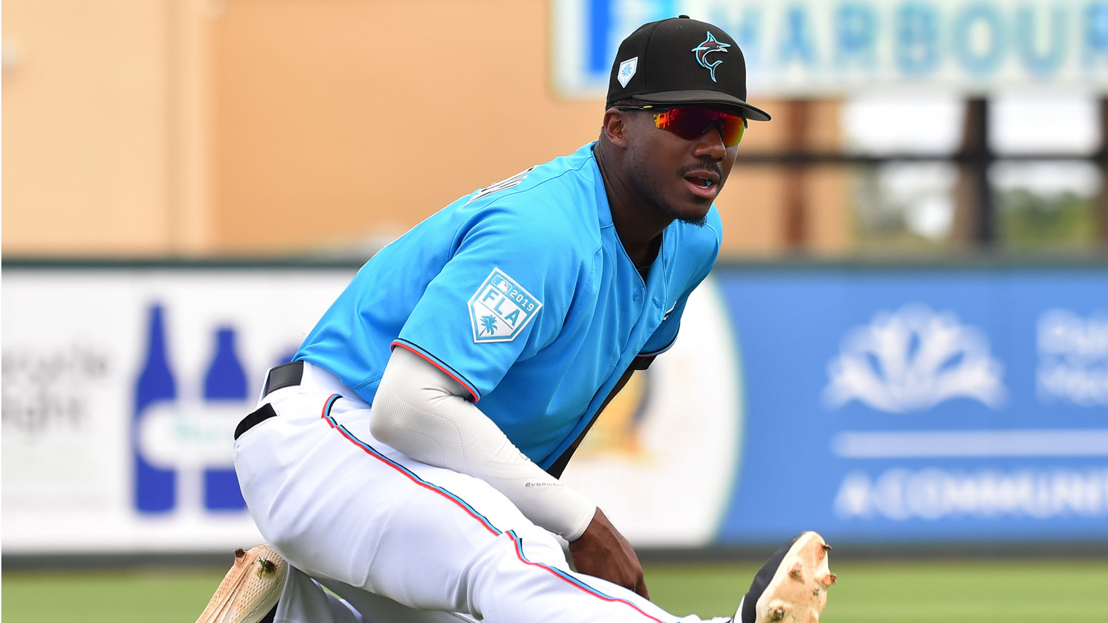 Lewis Brinson expecting spring training home run binge to continue into Marlins' season