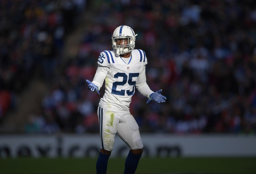 Colts Place Cornerback Patrick Robinson on Injured Reserve