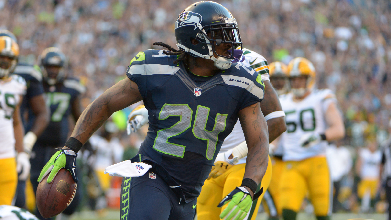 Marshawn Lynch voted No. 9 player in NFL Network's top 100