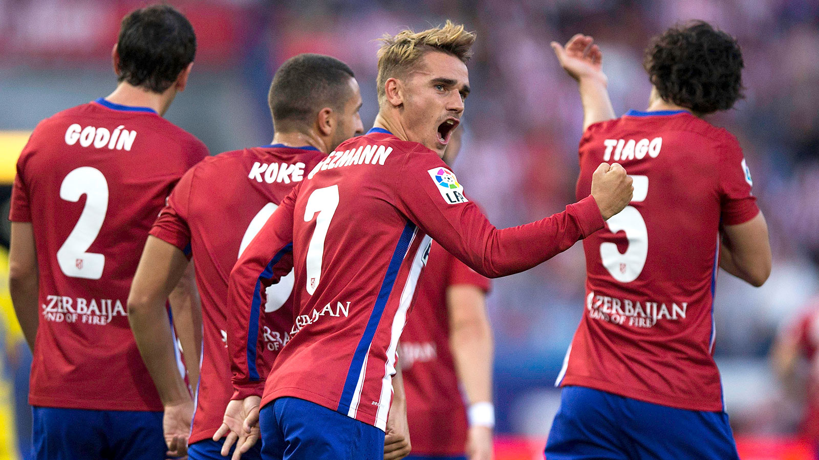 Atletico open season with nervy win over La Liga newcomer Las Palmas