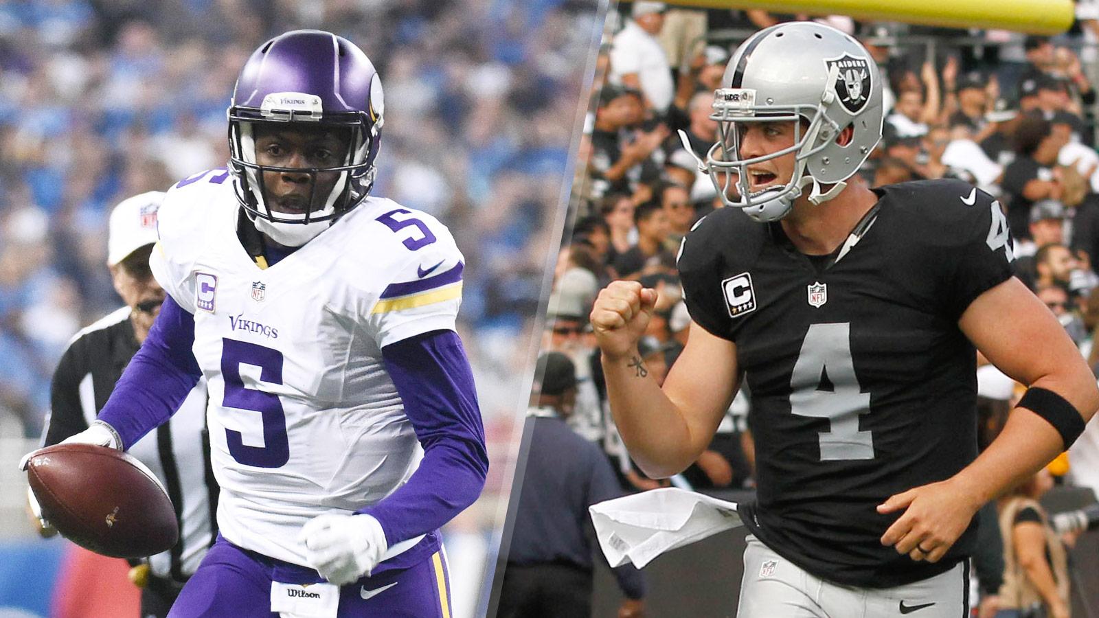 Six Points: Vikings vs. Raiders