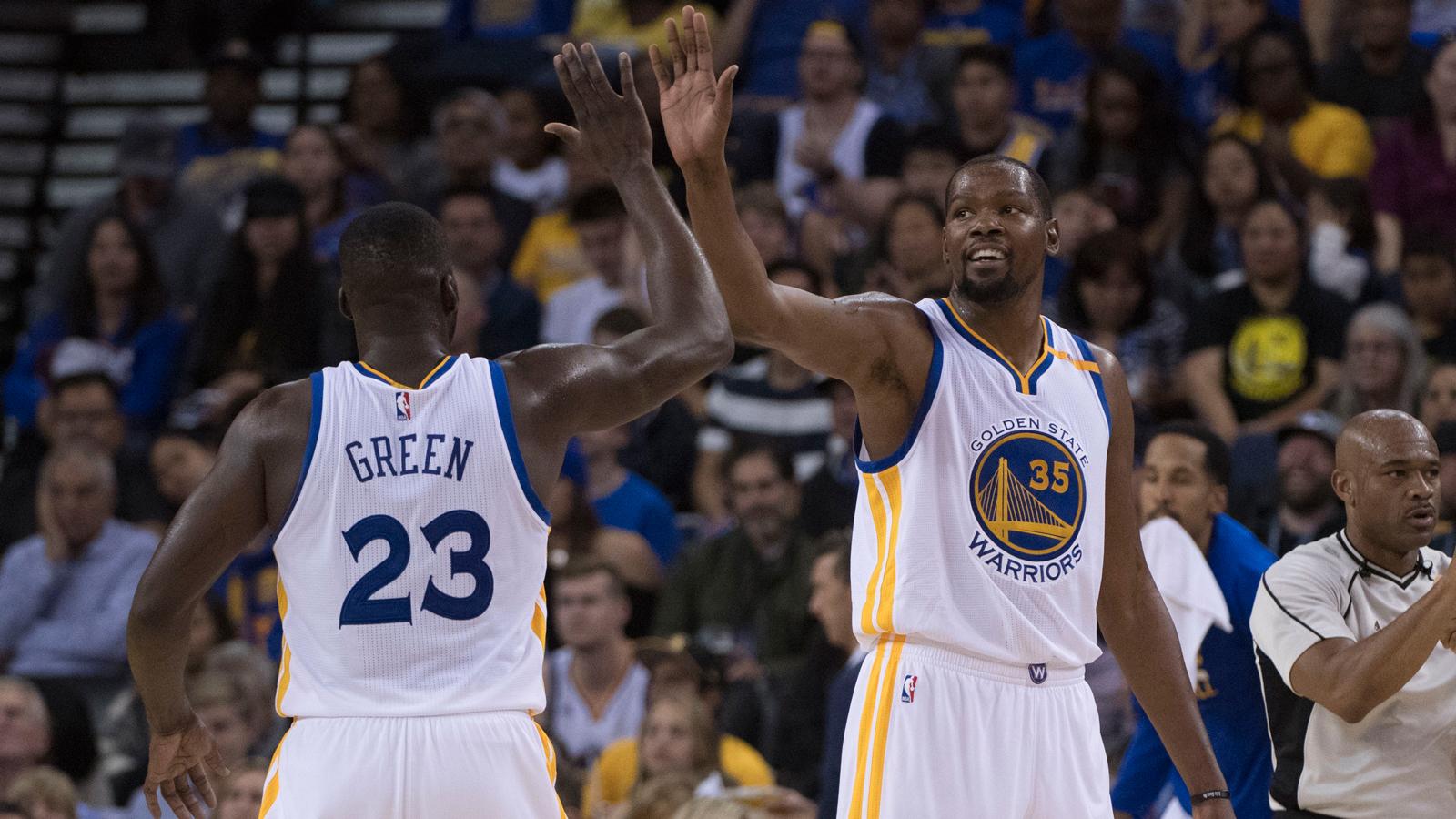 NBA Preseason Recap: Warriors rout Clippers in Durant's debut