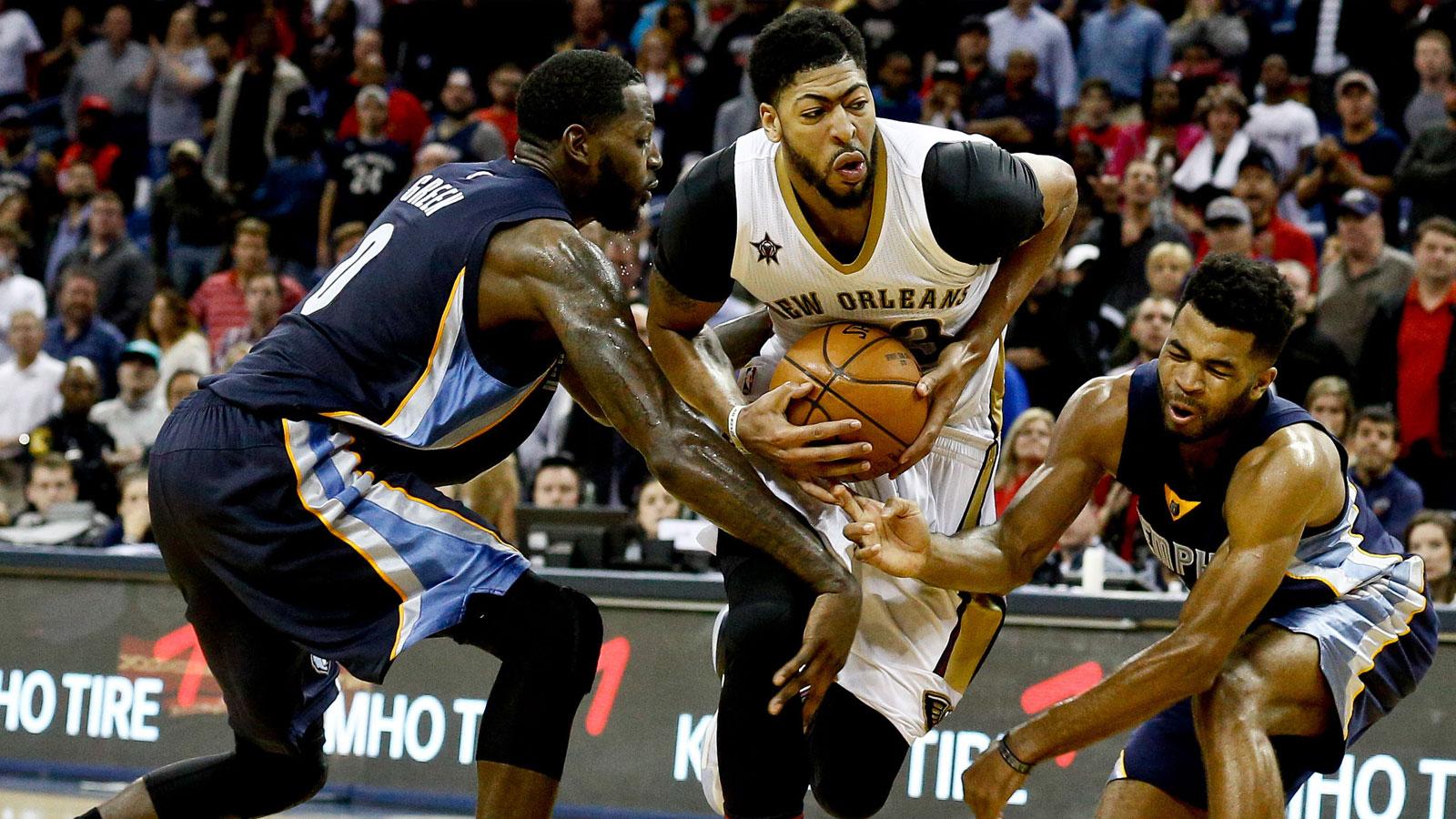 Gasol, Grizzlies outlast Pelicans, 110-108 in double OT