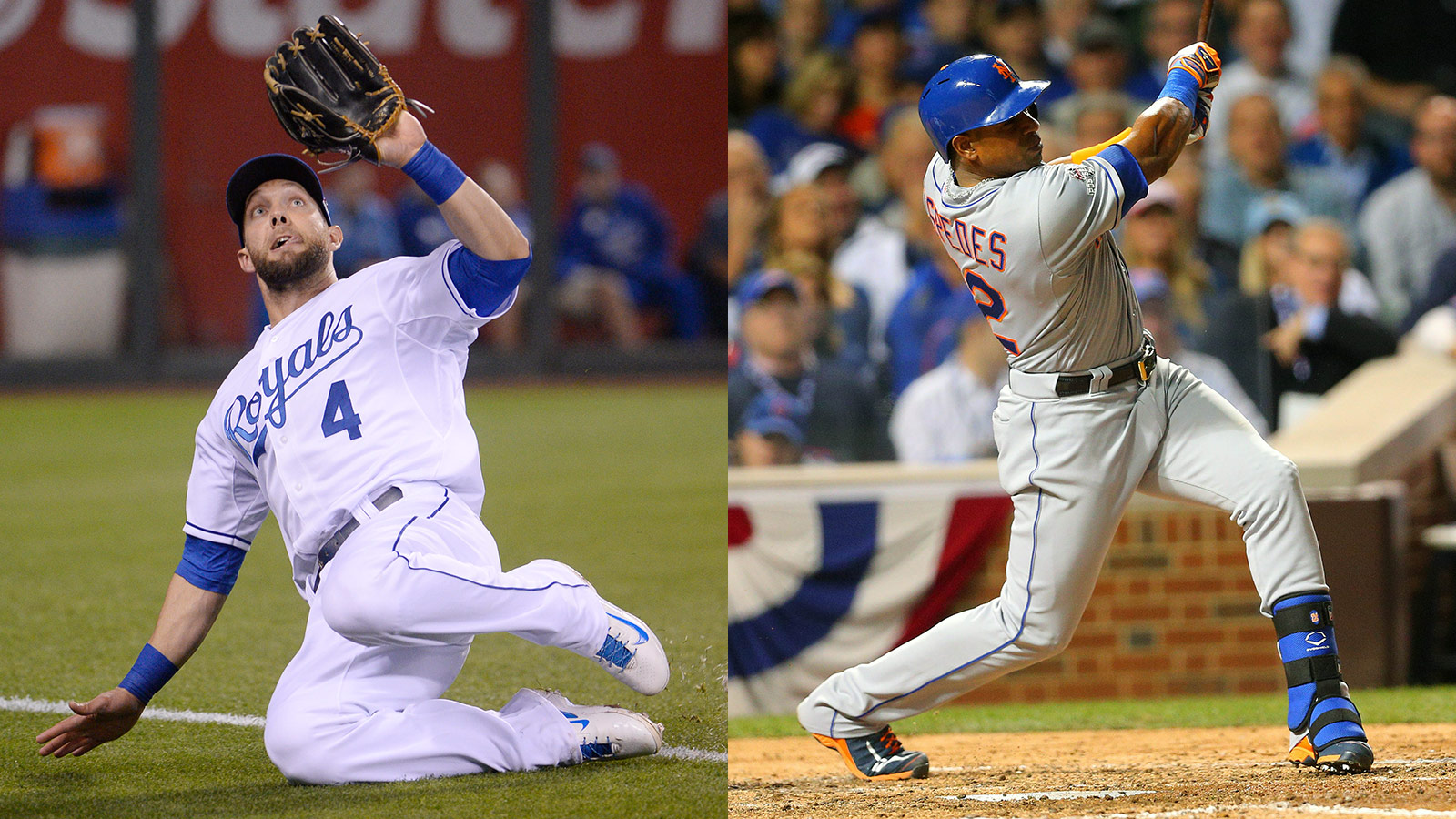 How the Royals and Mets match up position by position