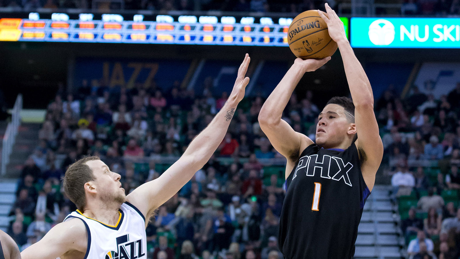 Suns go cold down stretch, fall to Jazz