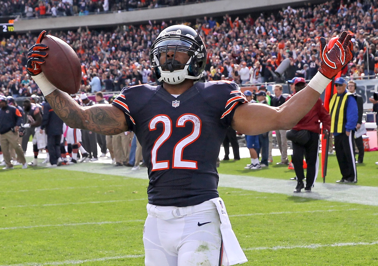 Bears will be without Matt Forte against the Chargers on Monday