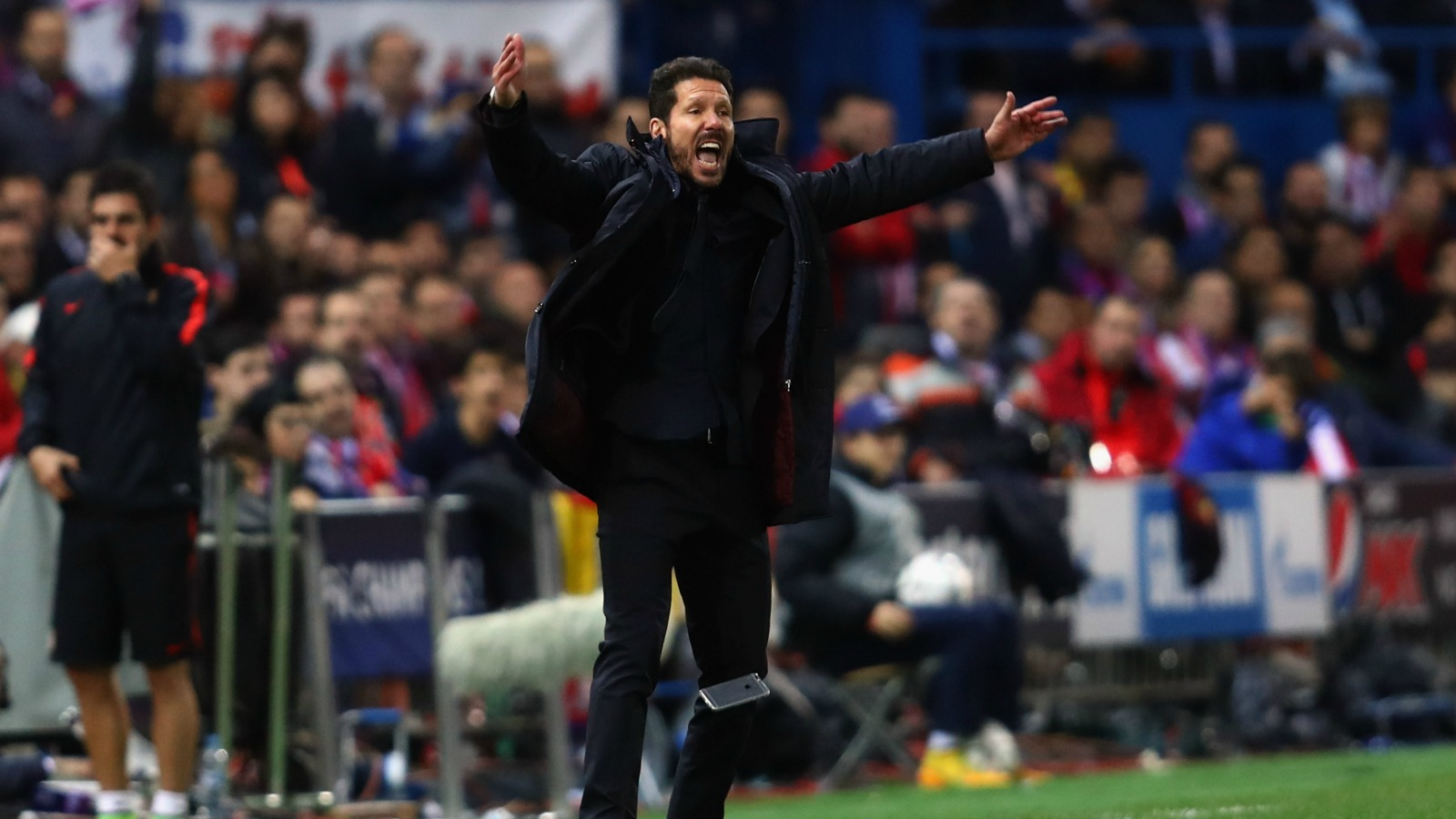 Diego Simeone basically yelled Atletico Madrid into the Champions League semifinals