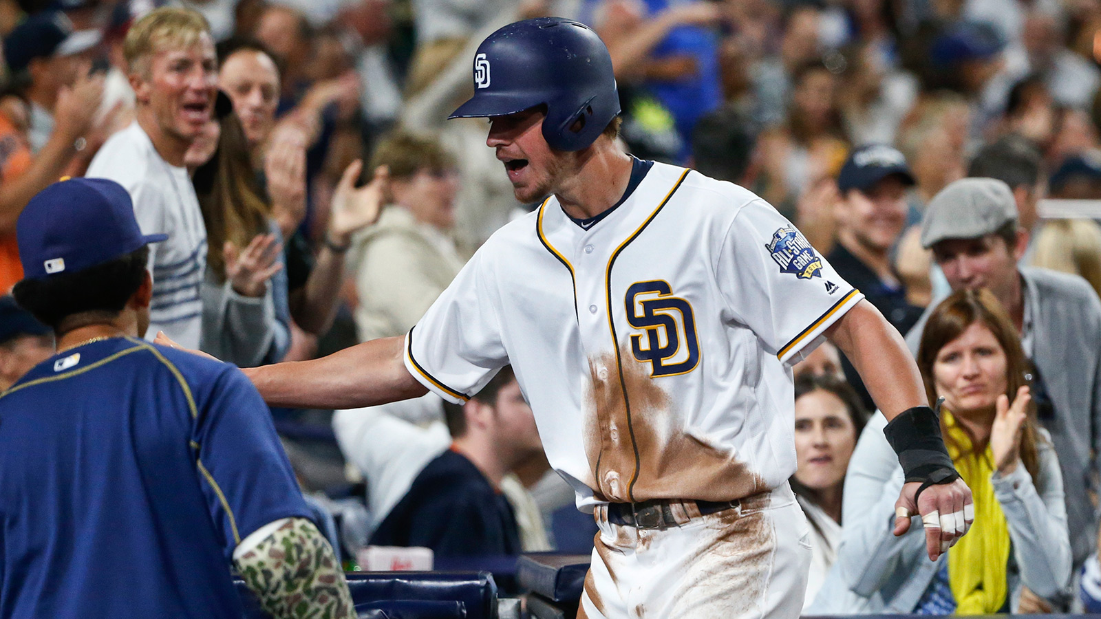 Padres' Myers will start at DH for National League
